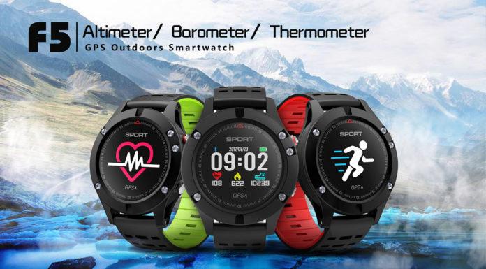 NO.1 F5 | tani chiński smartwatch