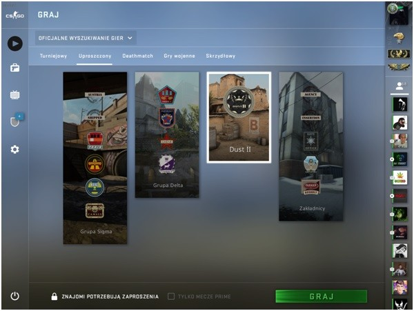 Counter Strike Global Offensive | Tryb gry uproszczony