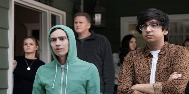 Sam Gardner i jego najlepszy przyjaciel Zahid (NIK DODANI) | Atypowy | Atypical | Serial | Netflix