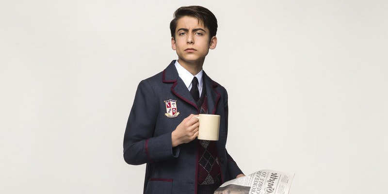 Numer 5 | (Aidan Gallagher) | Akademia Umbrella | Sezon 1 | Netflix | 2019