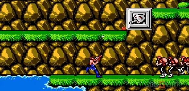 Contra | strzelanka NES.