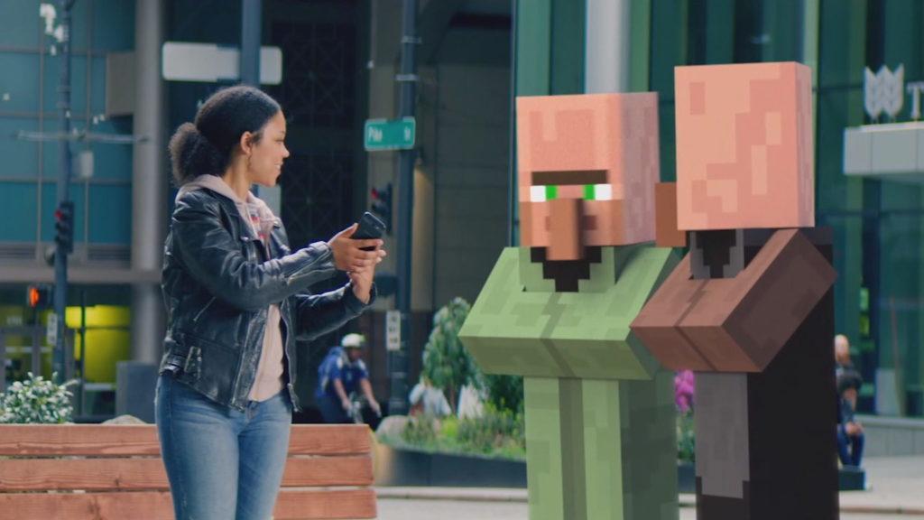 Zapowiedź Minecraft w wersji AR | Build 2019.