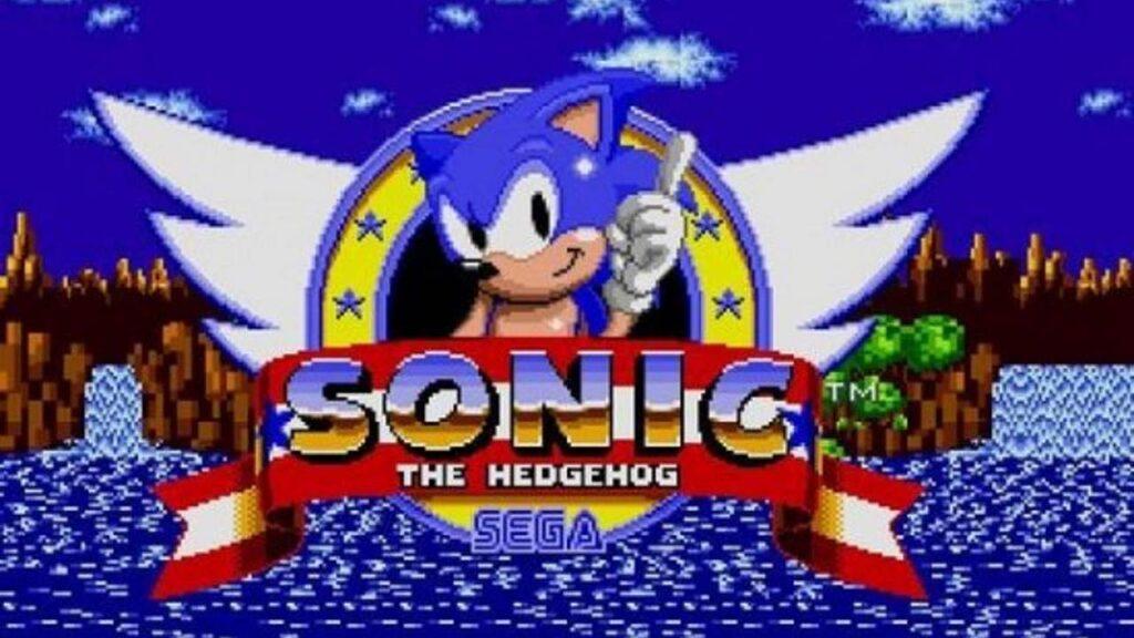 Sonic -gra SEGA - 1991