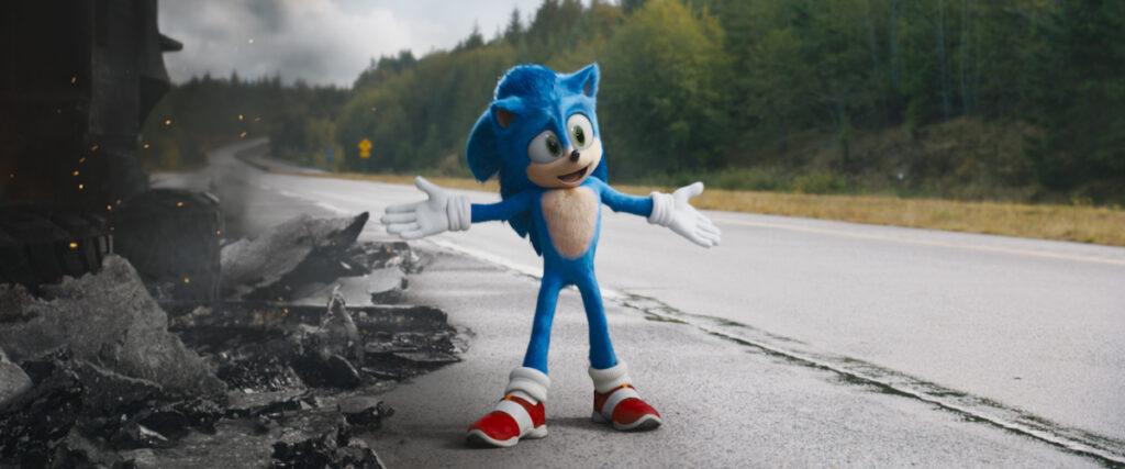 Niebieski jeż Sonic
